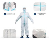 EN14126标准的防护服,Disposable medical protective suit