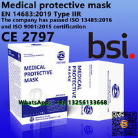 Medical protective Mask,EN 14683:2019,BSI certified medical Mask