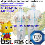 disposable protective suit medical use,Export to USA